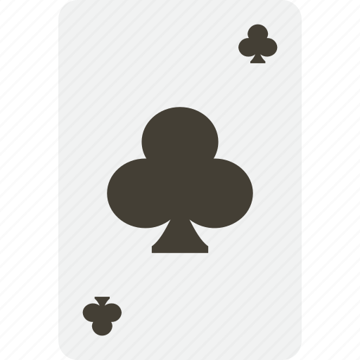 card, casino, clubs, gambling, playing, poker icon