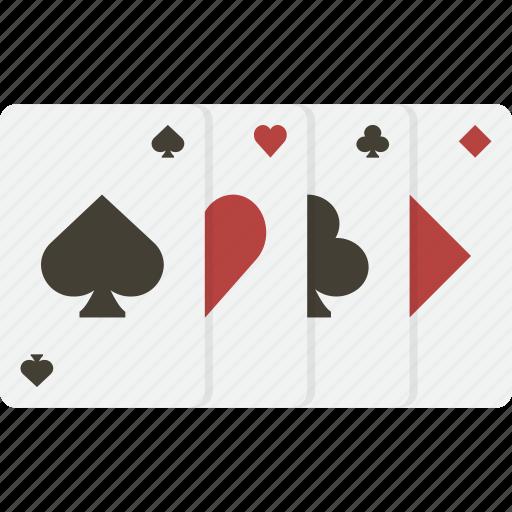 blackjack, cards, casino, gambling, playing, poker icon