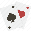 cards, casino, gambling, hearts, playing, poker, spades icon