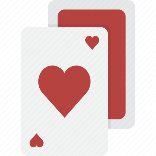 card, cards, casino, gambling, hearts, playing, poker icon