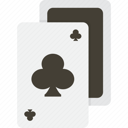 card, cards, casino, clubs, gambling, playing, poker icon