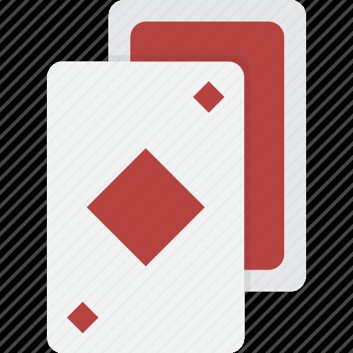card, cards, casino, diamonds, gambling, playing, poker icon