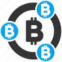 bitcoin collaboration, crypto currency, mining company, money, partnership, payment, together icon