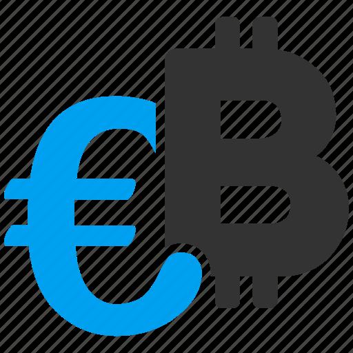 bank, bitcoin, currency, euro, finance, financial, money symbols icon