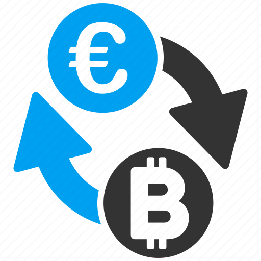 bitcoin, change, coins, currency exchange, euro, money transactions, transfer icon