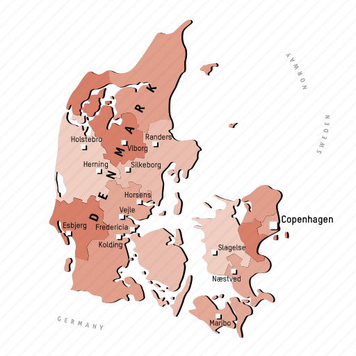 countries, country, denmark, europa, europe, map, maps icon