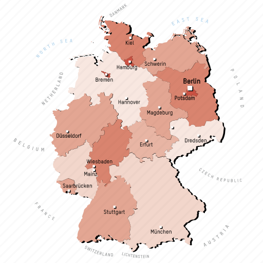 Countries, country, europa, europe, germany, map, maps icon - Download on Iconfinder