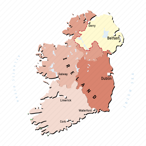 Country Of Ireland Map.Europe Regions In Countries By Design Helena Vogl