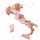 countries, country, europa, europe, italy, map, maps icon