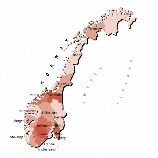 countries, country, europa, europe, map, maps, norway icon