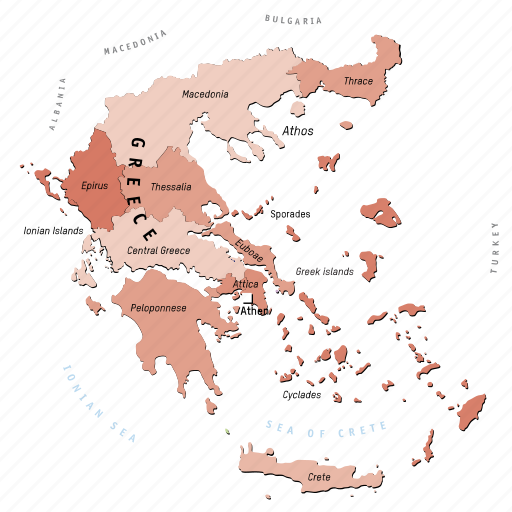 Country Of Greece Map.Europe Regions In Countries By Design Helena Vogl