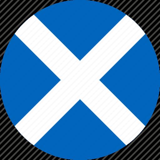 flag, scotland icon