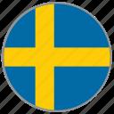 europe, travel, flag, stockholm, eu, sweden, european union