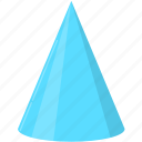 birthday, celebration, christmas, cone hat, decoration, holiday, party icon
