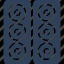 music system, speaker, speaker box, subwoofer icon