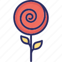 candy stick, confectionery, lollipop, lolly icon