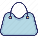 bag, hand bag, purse, shoulder bag icon