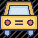 cab, car, taxi, taxi van icon