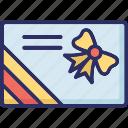 greeting card, invitation card, party card, wedding invitation icon
