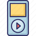 device, mp4 player, players, pod icon