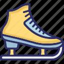 ice blading, ice skates, inline skates, skates icon