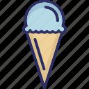 cake cone, cone, cup cone, ice cone icon