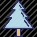 christmas tree, fir tree, nature, pine tree icon