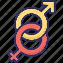 female gender, gender sign, gender symbols, heterosexual icon