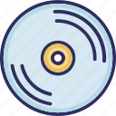 cd, compact disk, dvd, media icon