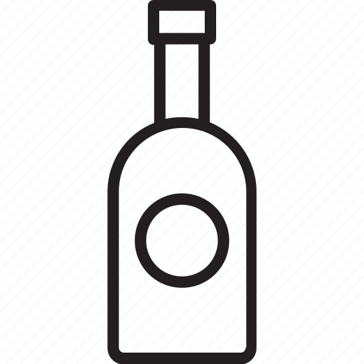 alcohol, bottle, champagne, champagne bottle icon