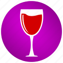 alcohol, beverage, drink, glass, juice, liquor, wine icon