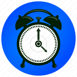alarm clock, bell, clock, countdown, time, wake up, watch icon