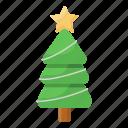 christmas, tree, christmas tree, xmas tree, decorated tree, coniferous tree, evergreen tree