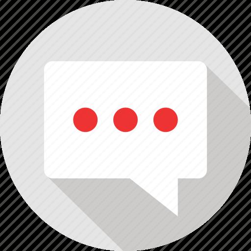 bubble, sms, talk, text icon