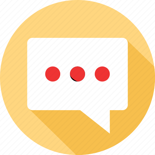 bubble, chat, sms, text icon