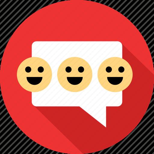 emoji, faces, happy icon