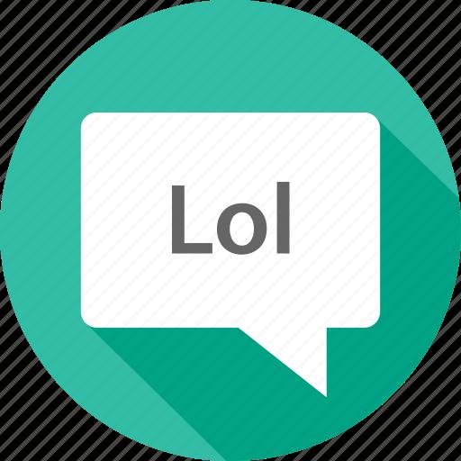 laugh, loud, out icon