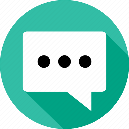 bubble, sms, talk icon