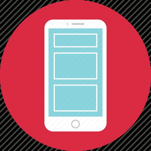 design, device, responsive, wireframe icon