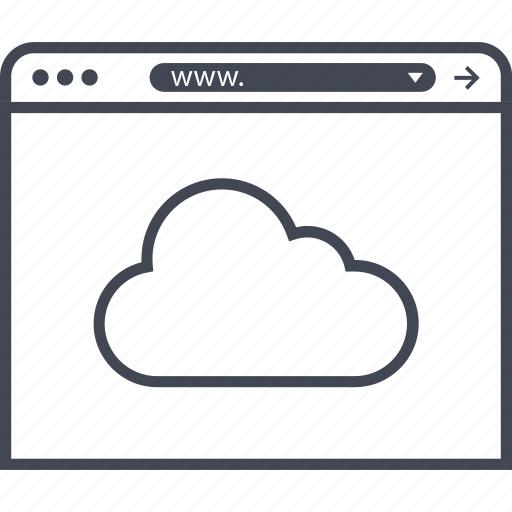 cloud, data, online, save icon