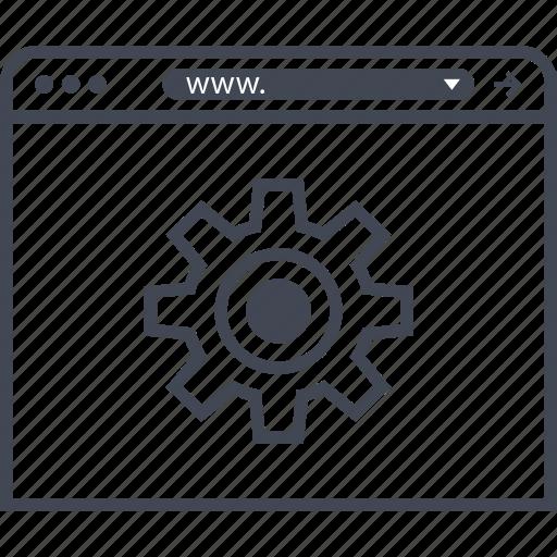 browser, geat, internet, setup icon