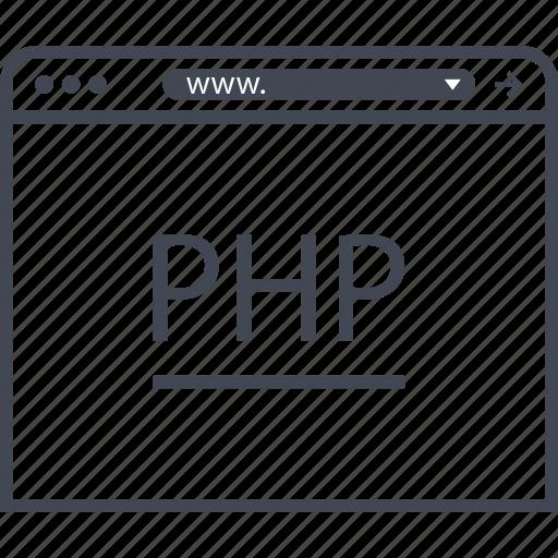 data, php, program icon