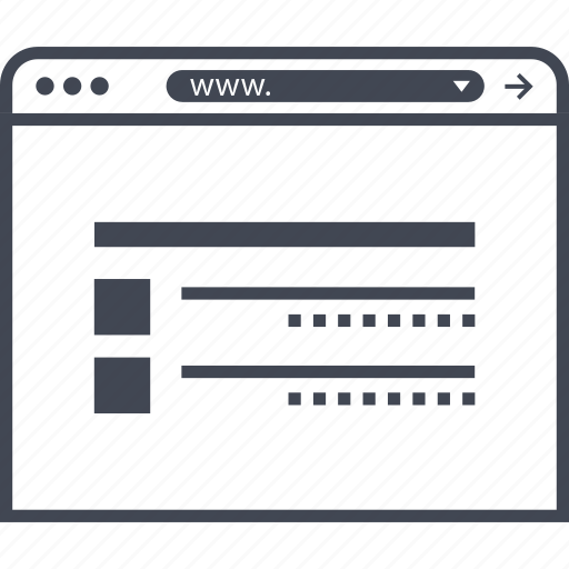 mockup, online, wireframes icon