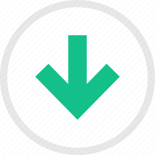 Down, download, file icon - Download on Iconfinder