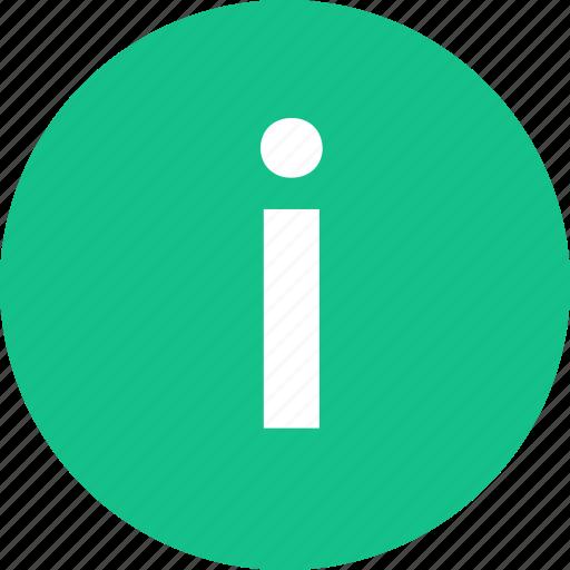 I, info, information, more icon - Download on Iconfinder