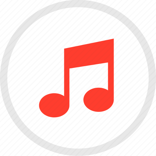 listen, music, note, sign icon