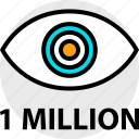 activity, everyday, everydayuse, million, one, online icon