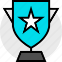 activity, everyday, everydayuse, online, star, trophy icon