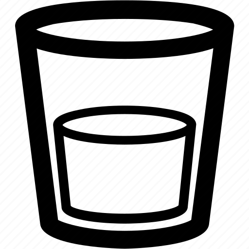 cup, glass, glass of water, liquid, water icon