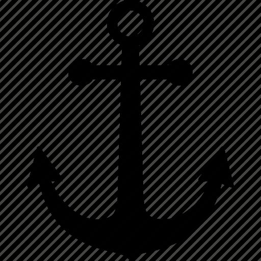 anchor, boat, marine, nautical, sailor, ship, tattoo icon